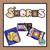 Preschool Snack Time—No Cook S'mores