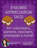 S'mores Appreciation Tags