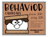 S'mores Behavior Calendars **Updated every YEAR!