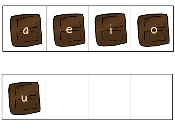 S'mores Build a Word Activity - CVC word builders