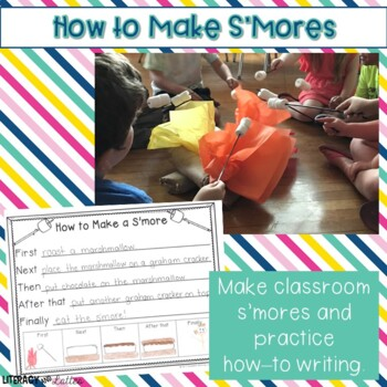 S'mores Craft and Procedural Writing Prompts