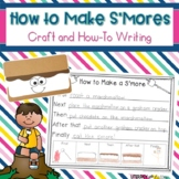 S'mores Craft and How To Writing Prompts