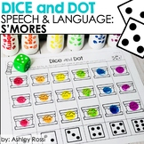 S'mores Speech and Language Therapy | Dice and Dot