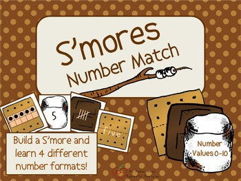 S'mores Number Match Activity