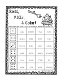 S'mores Roll, Read, and Color Freebie!