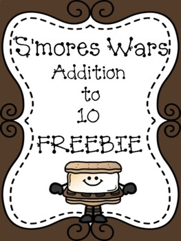 S'mores Wars Addition to 10 FREEBIE