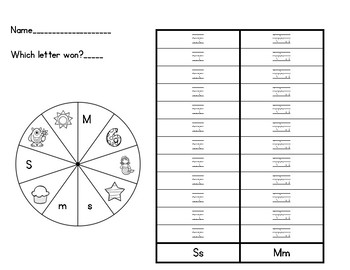 S or M spinner activity