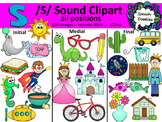 S sound clipart - 100 images! Personal and Commercial use.