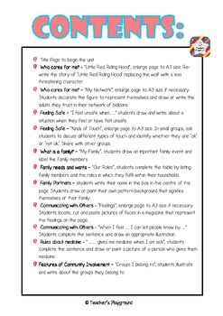 S1 - 'Getting Along' COGs Workbook