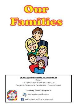 S1 - 'Our Families' COGs Workbook