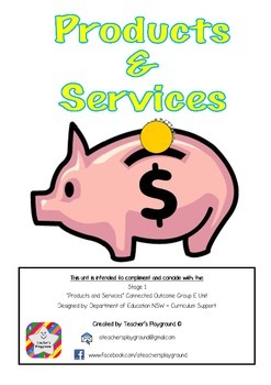 S1 - 'Products and Services' COGs Workbook