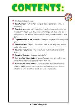 S2 - 'Being Australian' COGs Workbook