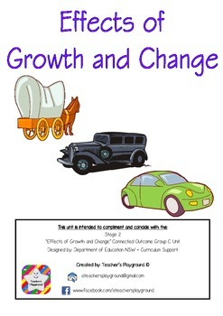 S2 - 'Effects of Growth and Change' COGs Workbook