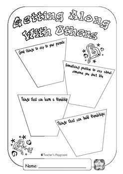 S2 - 'Understanding Each Other' COGs Workbook