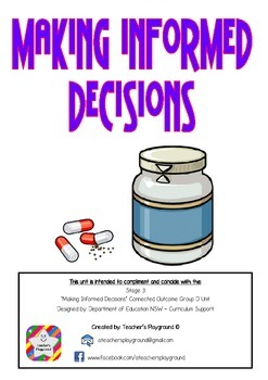 S3 - 'Making Informed Decisions' COGs Workbook