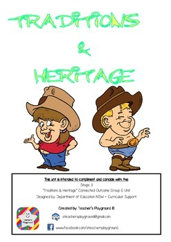 S3 - 'Traditions and Heritage' COGs Workbook