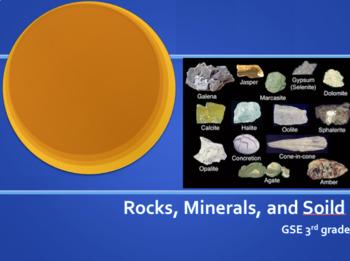 S3E1 Rocks and Soil GSE 2018 Unit *Perfect for GoogleClassroom