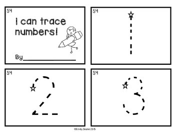 I can trace numbers!