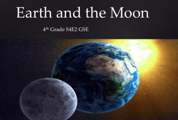 S4E2 Earth and the Moon GSE 2018 Unit *Perfect for GoogleClassroom