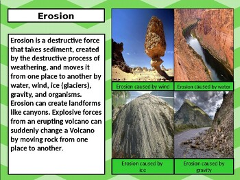 S5E1a. b. 5th Grade Georgia Earth Science Powerpoint w/Guided Notes