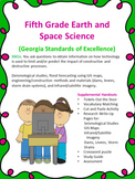 S5E1c. 5th Grade Grade Earth Science Research, Write-Ups and Assessment