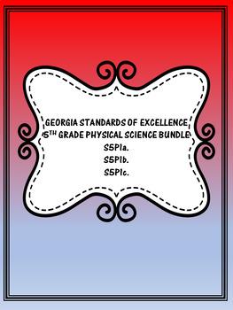 S5P1 5th Grade Georgia Physical Science Bundle