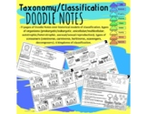 S7L1 Classification of Life Doodle Notes with Answers