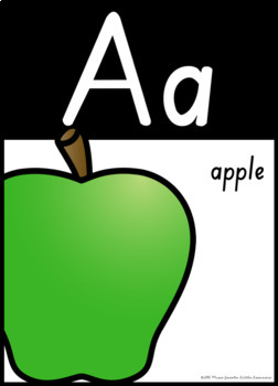 SA Font Alphabet Posters {South Australian Beginners and Cursive}
