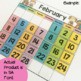 SA Font Classroom Calendar & Weather Display {Rainbow Classroom Decor}
