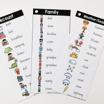 SA Font Word Rings - Writing Tools