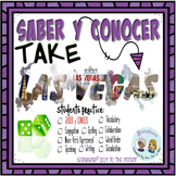 SABER y CONOCER Take LAS VEGAS * a Speaking & Writing Prac