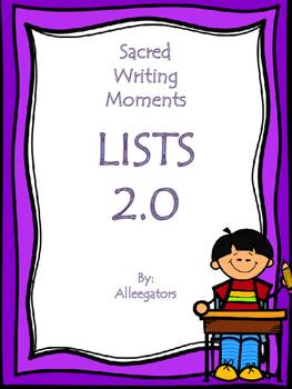 SACRED WRITING TIME 2.0