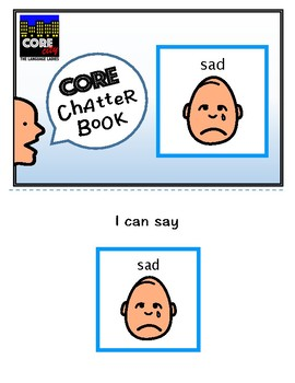 SAD: Interactive CORE City Chatter Book