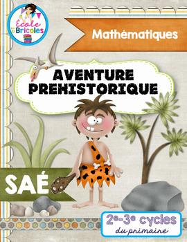 SAÉ maths-Aventure préhistorique