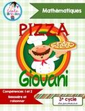 SAÉ maths- Pizza Giovani