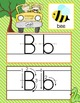 SAFARI - Alphabet Cards, Handwriting, ABC Flash Cards, ABC print with pictures