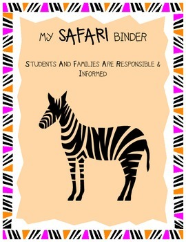 SAFARI Binder Cover