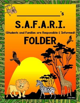 SAFARI COMMUNICATION FOLDER