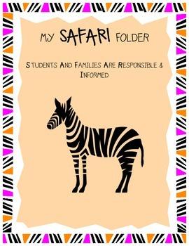 SAFARI Folder Cover