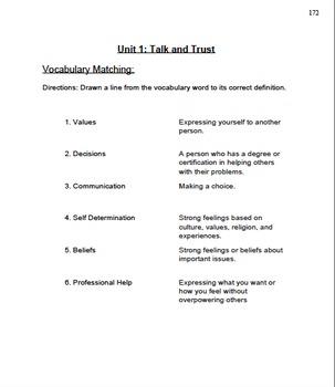 SAFE SECS Curriculum