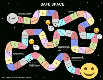 SAFE SPACE - Emotion Exploration - A Board Game