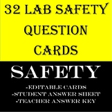 SAFETY LAB CARD QUESTIONS
