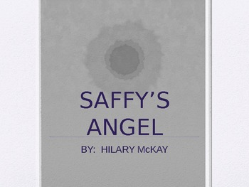 SAFFY'S ANGEL COMPREHENSIVE GUIDED READING POWERPOINT