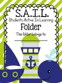 S.A.I.L. Folder {Students Active In Learning} Parent Commu