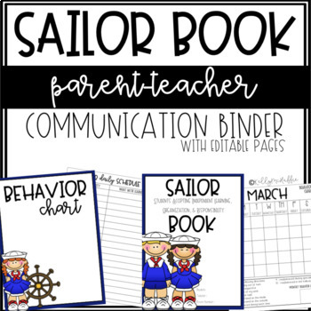 SAILOR Communication Binder - Editable