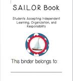 SAILOR Book (student binder/ take home folder)