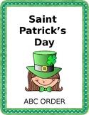 SAINT PATRICK'S DAY ABC ORDER