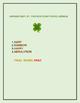 SAINT PATRICK'S DAY COLORING & JUMBLE ACTIVITY, GRADES 3-5