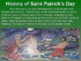SAINT PATRICK'S DAY HISTORY - fun, engaging, informative 15-slide PPT