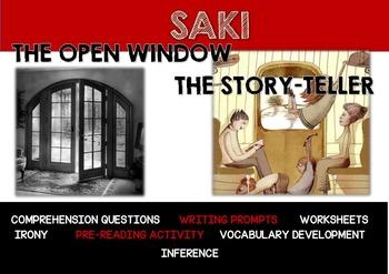 SAKI - THE OPEN WINDOW and THE STORYTELLER
